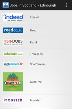 Jobs in Scotland - Edinburgh poster
