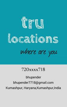Tru Locations apk screenshot