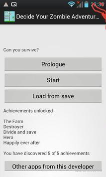 Decide Your Zombie Adventure poster