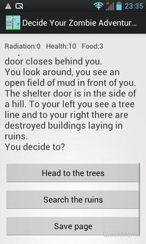 Decide Your Zombie Adventure apk screenshot
