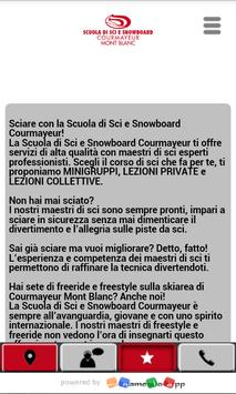 Scuola Sci Courmayeur MyNameIs apk screenshot