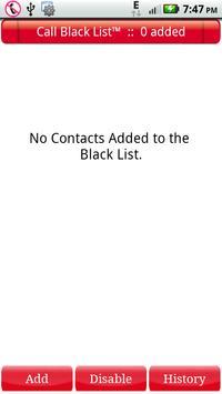 Call Black List poster