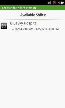Texas Healthcare Staffing apk screenshot