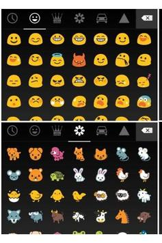 Pure Android Emoji Keyboard poster