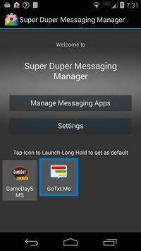 Super Duper Messaging Manager poster
