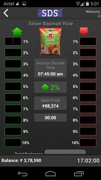 SDS Commodity Online Auction apk screenshot