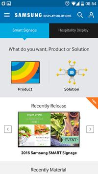 SAMSUNG Display Solutions poster