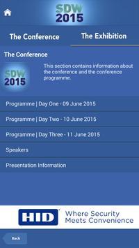 SDW 2015 apk screenshot