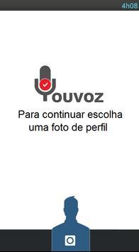 YouVoz - On Facebook Voz poster