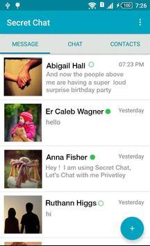 Secret messengers apk screenshot