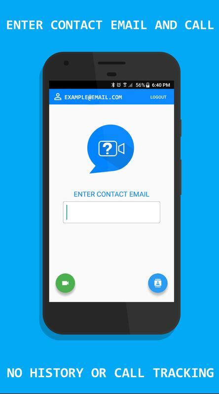 Secret calling app