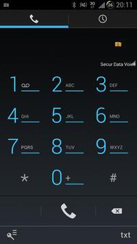 Secur Data Voice poster