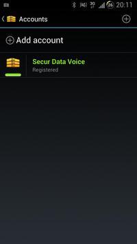 Secur Data Voice apk screenshot