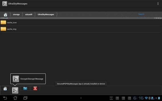 UltraSkyMessages apk screenshot