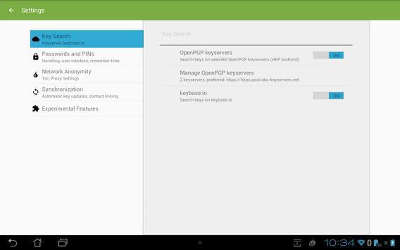 SecuredPGPSkyMessages apk screenshot