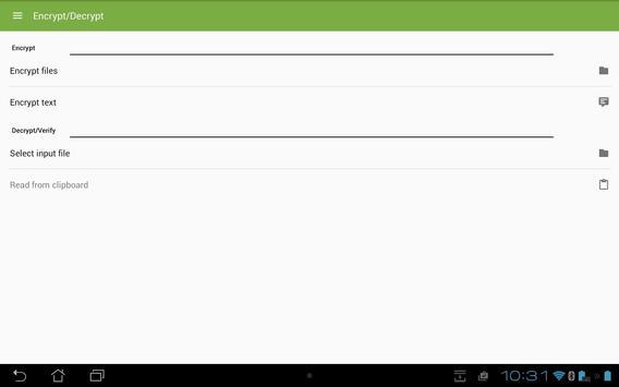 SecuredPGPViberM apk screenshot