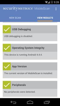 SecurityMetrics MobileScan apk screenshot