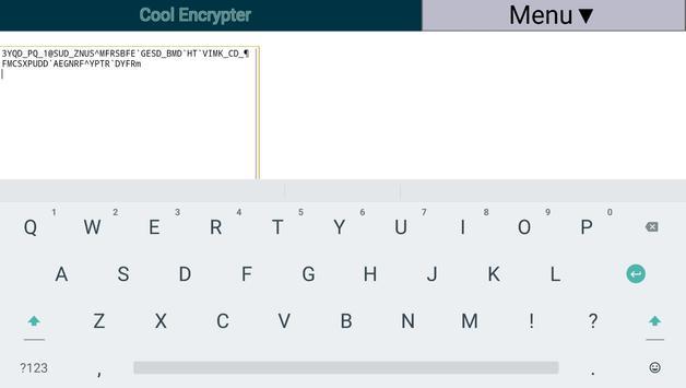 Cool Encrypter apk screenshot