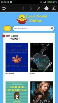 Novel Browser apk screenshot