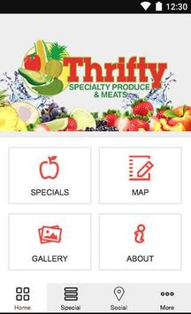 Thrifty Specialty Produce poster