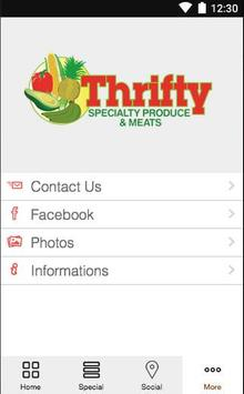 Thrifty Specialty Produce apk screenshot