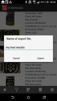 EVSEMobile apk screenshot