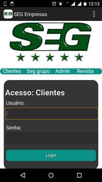 SEG Empresas ***** Segurança apk screenshot