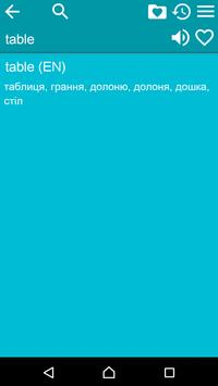 English Ukrainian Dictionary F apk screenshot