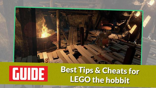 Guide for LEGO THE HOBBIT poster