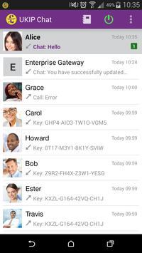 UKIP Secure Chat apk screenshot
