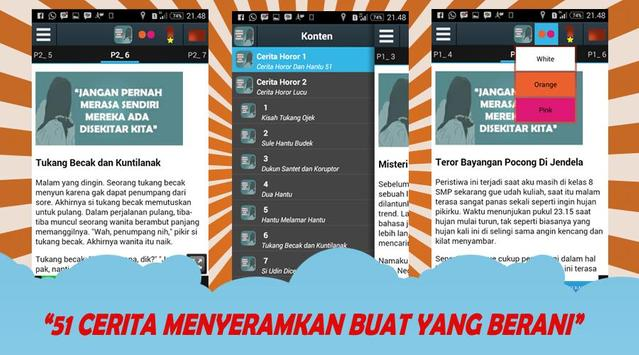 Cerita Horor & Hantu 51 apk screenshot