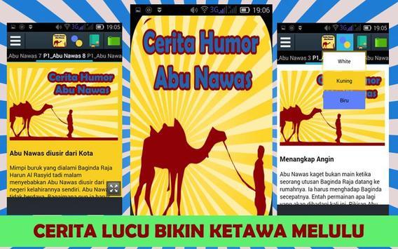 Cerita Humor Abu Nawas 29 poster