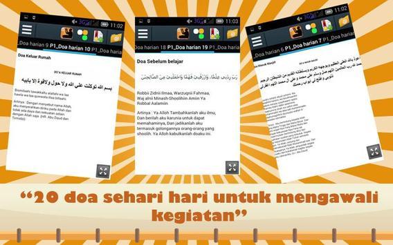 Doa Harian Muslim Lengkap : 20 apk screenshot
