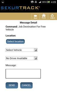 SekurTrack Dispatch apk screenshot