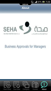 SEHA Approval for Managers apk screenshot
