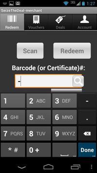 Seize the Deal - Merchant App apk screenshot