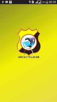 Aduan Selayar poster