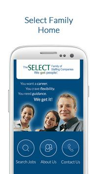 Job Finder from Select Family poster