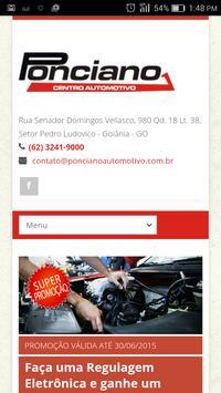 Ponciano Automotivo poster
