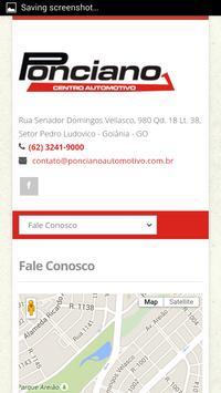 Ponciano Automotivo apk screenshot