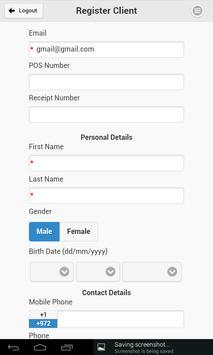 Self-Point Registration apk screenshot
