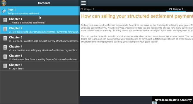 Sale your structured setlement apk screenshot
