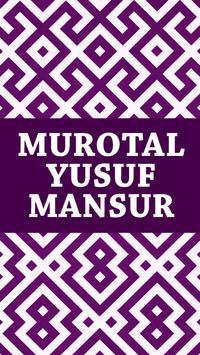 Murotal Yusuf Mansur poster