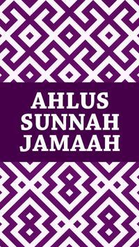 Ahlus Sunnah Wal Jamaah poster