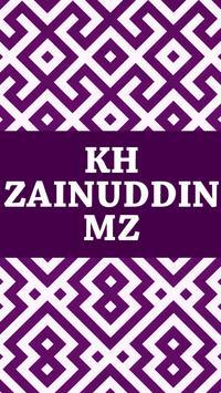KH Zainuddin MZ poster