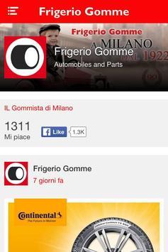 Frigerio Gomme Ausonio poster