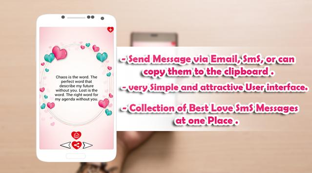 Love Sexy SMS from the Heart 2 apk screenshot