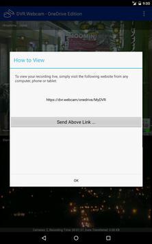 DVR.Webcam - OneDrive Edition apk screenshot