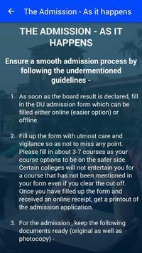 DU Admission apk screenshot