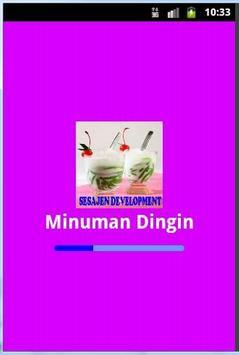 Resep Minuman Dingin poster